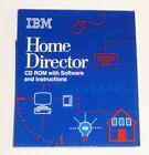 IBM Home Director X10 V4.0 1997 CD for PC - Setup Instructions - Orig Sleeve