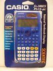Casio,  FX-300es PLUS-BU,  Scientific Calculator, P/N: 300BU-BTS15,    BLUE