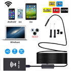 New Waterproof 8LED Android Endoscope Borescope Snake Inspection Camera Scope