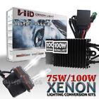 Xenon HID Headlight Bulb Ballast Conversion Kit 75W 100W High Power Super Bright