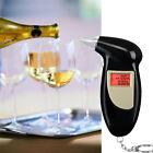 Pro Digital Alcohol Breath Tester Analyzer Breathalyzer Detector Testing LHD