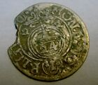 1622 - 1624 HAMMERED PIRATE SILVER COIN FOUND PUERTO RICO METAL DETECTOR AT MAX