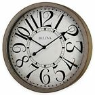 Westwood Wall Clock in Antique Grey