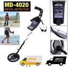MD-4020 Waterproof Metal Detector Kit Deep Sensitive Hunter Coil Gold Search BTT