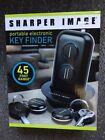 KEY FINDER, SHARPER IMAGE,PORTABLE ELECTRONIC, 45FOOT RANGE, NEW