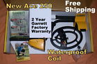 """New Metal Detector Garrett Ace 250 with 6.5x9"""" Waterproof Coil * Free Shipping"""