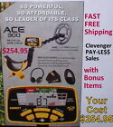 Garrett New Ace 300 Metal Detector with Special Bonus Items  *Fast Free Shipping