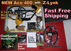 Garrett Ace 400 Metal Detector with Z-Lynk & Extra Items * Fast  Free Shipping