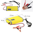 Portable 12V6A Car Motorcycle Smart Automatic Battery Charger Maintainer Trickle