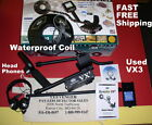 USED Spectra VX3 Whites Metal Detector with Waterproof Coil   Fast FREE Shipping