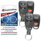 2x Keyless Entry Remote Car Key Fob Shell Case Cover for Hyundai Kia 2b Panic