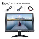 EYOYO 10 inch 1920x1200 AV VGA BNC HDMI IPS Monitor For Laptop DVR CCD Portable