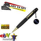 Security 101 16GB Spy Pen GOLD Pro Hidden Can recording pen spy camera USA