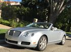 2009 Bentley Continental GT Mulliner 2009 Bentley Continental GT Convertible with Mulliner Package and just 15k Miles