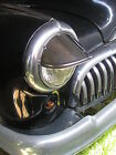 NEW PAIR 40`S ~50`S ~ 60`S VINTAGE STYLE DROOPY EXTENDED HEAD LIGHT VISORS !