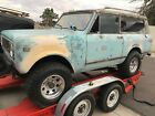 1973 International Harvester Scout  1973 International Scout II rolling chassis and drive train only