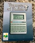 """The Learning Journey """"Treasury Of Psalms"""" 9 Function Organizer& NotePad VTG 90's"""
