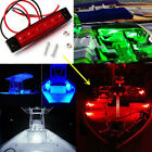 4PC Red Marine Led Light Courtesy Light Strip for Boats 12 Volts