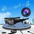 1080P 2.4GHZ Bluetooth MP3 Sunglasses Video Recording Hidden Camera GP