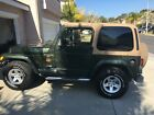 1998 Jeep Wrangler Sahara 1998 Jeep Wrangler Sahara/New 4.0L engine w/only 10k Miles!