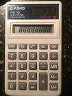 Casio HS-10 Handheld Pocket Electronic Calculator - 8 Character(s) - Solar Power