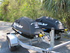 Pair 2015 Yamaha Super Jets Jet 701cc LIKE NEW 2 hours Double Trailer Stand Up