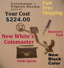 """New Whites Coinmaster Metal Detector with 9"""" Coil *   Fast Shipping"""