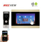 "7"" Recording Video Intercom 1.0MP 720P HD TCP/IP SIP Door Phone for Android IOS"