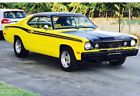 1973 Plymouth Duster Wood Grain (Interior), Vinyl Top (Exterior) American Classic: 1973 Plymouth Duster