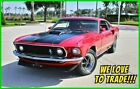 1969 Ford Mustang Mach 1 S-Code 390 / RARE / 1,000 MILES 1969 Ford Mustang Mach 1 S-Code 390 V8 Fastback Automatic