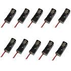 10pc 23A /A23 Battery 12V Clip Holder Box Case Black For MN21 MS21 Battery Nice