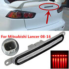 Red Car Brake Tail Light Trunk Lid Mount 3rd Lamp For Mitsubishi Lancer 2008-16
