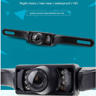 Car Reverse Rear View Camera License Plate  Night Vision Backup Waterproof X5