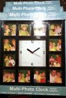 (3) Three: Make Your Own Multi-Photo Clock, New, Save by Buying in Bulk