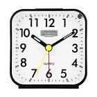 Peakeep pequenas pilas Reloj Despertador de viaje analogico en silencio No ma...