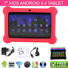 "7"" ANDROID 4.4 KIDS TABLET PC QUAD CORE WIFI Camera Kitoch CHILD CHILDREN LOT XH"