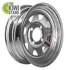 Trailer Wheel Rim Durable Galvanized Steel Part 12 x 4 4 Hole 12 in Accessory