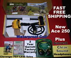 """NEW Garrett Metal Detector Ace 250 with 6.5x9""""Coil & Headphones * Free Shipping"""