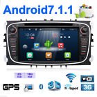 Android7.1 4Core+2G RAM Wifi GPS Navigation Für Ford Mondeo/Focus/S-max/Galaxy