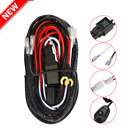40A 12V Wiring Harness Kit ON/OFF Switch Relay Harness for LED Work Light Bar M