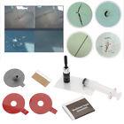 Set of Windscreen Windshield Repair Tool DIY Car Kit Wind Glass Chip & Crack pr