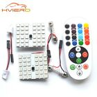 Car Led Panel Interior Remote Control Rgb Auto Set Reading Dome Festoon Adapter