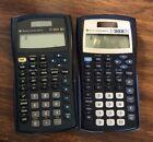 2 Texas Instruments TI-30X IIS S Calculators, Black/Blue, Dark Greenishblue