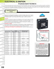 2004-2007 Honda Cb600f Yuasa Ytx7L-Bs Maintenance Free 12 Volt Battery YUAM327BS