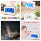 Digital LED Projector Projection Weather/Calendar/Voice/ Snooze Alarm Clock QTI