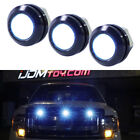 3pc Ford SVT Raptor Style LED Blue Grille Light Kit, Universal Fit Truck SUV