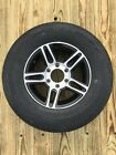 Radial Trailer Tire & Rim ST225/75R15 Load D 6 Lug Aluminum Pinnacle black