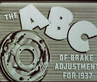 ABC of Brake Adjustment 1937-1938 Ford DVD  from Official Ford Filmstrip