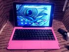 "Pink 10.1"" RCA Quad-Core Viking PRO w/ Keyboard Dock 32GB Android 6.0 Tablet"