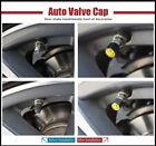 Chrome Car Wheel Tire Valve Dust Stems Air Caps Keychain With Land Rover Emblem